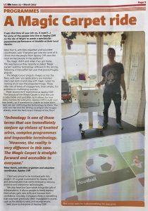 Leonard Cheshire Disability Magic Carpet Review