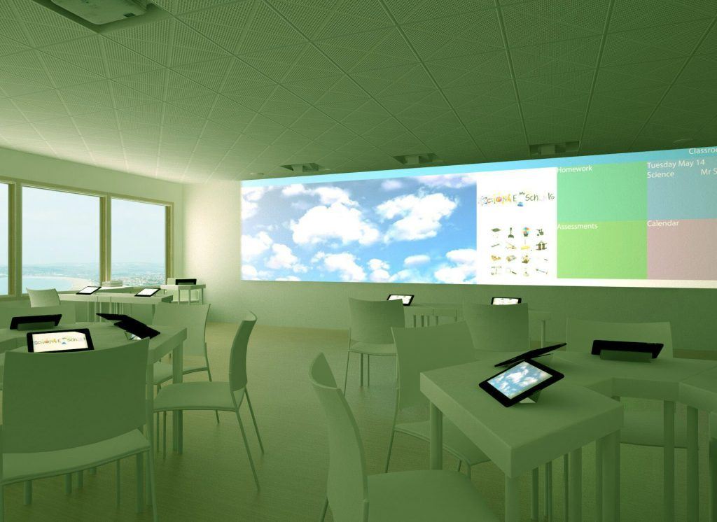 Green classroom learning environment