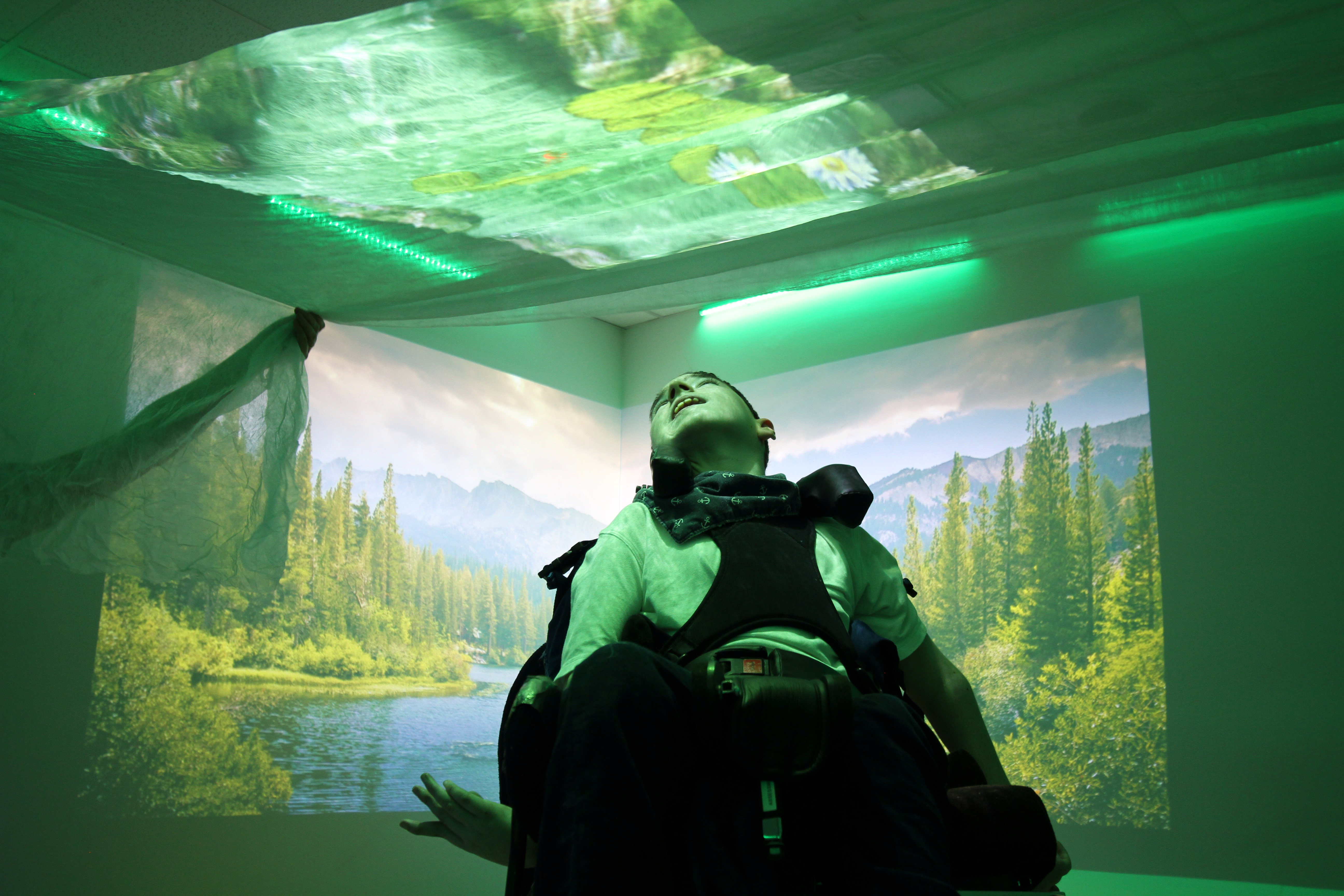 Designing a Sensory Room with Hazel Court Specialist School